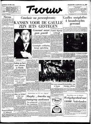 Trouw / De Rotterdammer 1958-05-20