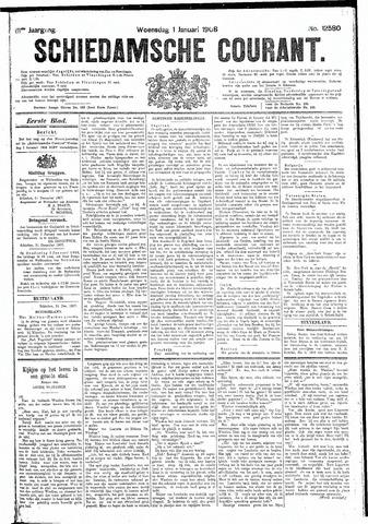 Schiedamsche Courant 1908-01-01