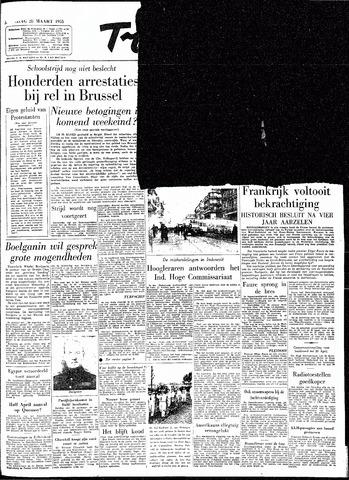 Trouw / De Rotterdammer 1955-03-28
