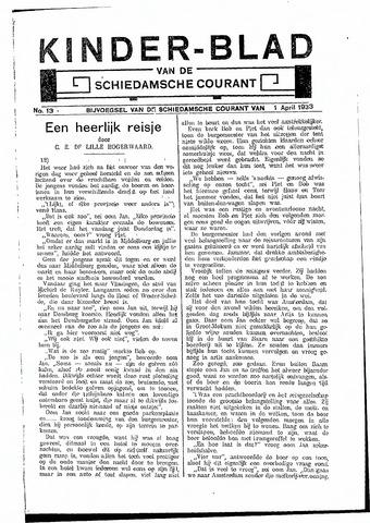 Schiedamsche Courant 1933-04-01
