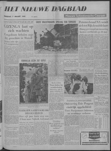 Nieuwe Schiedamsche Courant 1961-03-07