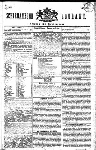 Schiedamsche Courant 1866-09-28