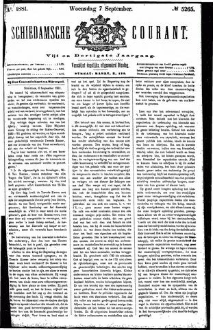 Schiedamsche Courant 1881-09-07