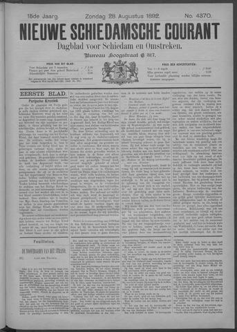 Nieuwe Schiedamsche Courant 1892-08-28