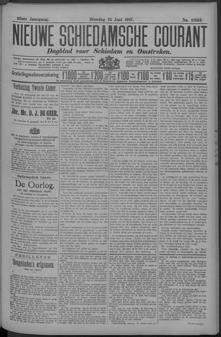 Nieuwe Schiedamsche Courant 1917-06-12
