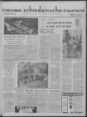 Nieuwe Schiedamsche Courant 1958-06-26