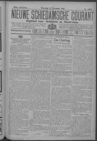 Nieuwe Schiedamsche Courant 1917-11-12