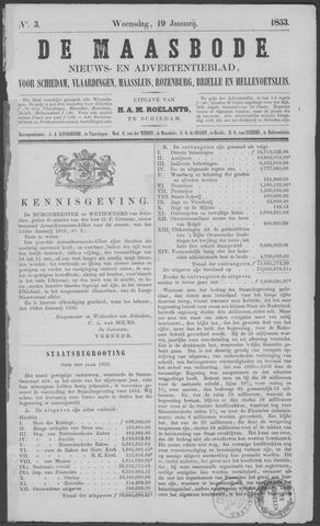 De Maasbode 1853-01-19