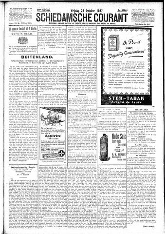 Schiedamsche Courant 1927-10-28