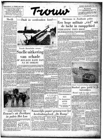 Trouw / De Rotterdammer 1953-02-11