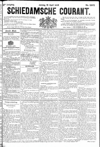 Schiedamsche Courant 1908-04-19