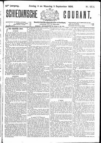 Schiedamsche Courant 1898-09-05