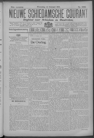 Nieuwe Schiedamsche Courant 1918-02-13