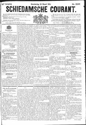 Schiedamsche Courant 1910-03-10
