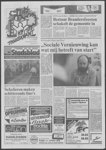 Het Nieuwe Stadsblad 1991-01-18