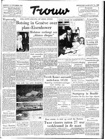 Trouw / De Rotterdammer 1955-11-11