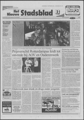 Het Nieuwe Stadsblad 2000-09-07
