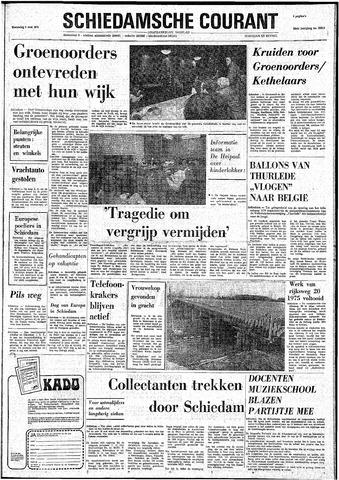 Rotterdamsch Nieuwsblad / Schiedamsche Courant / Rotterdams Dagblad / Waterweg / Algemeen Dagblad 1974-05-08