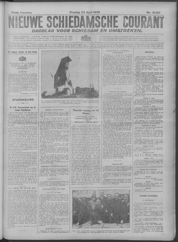 Nieuwe Schiedamsche Courant 1929-04-23