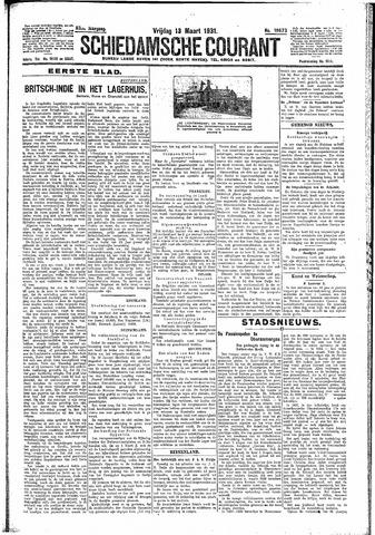 Schiedamsche Courant 1931-03-13