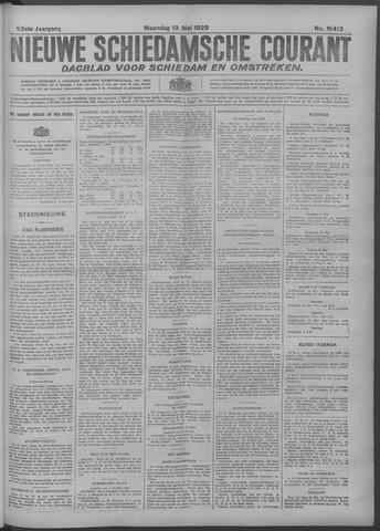 Nieuwe Schiedamsche Courant 1929-05-13