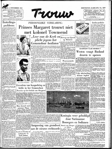 Trouw / De Rotterdammer 1955-11-01