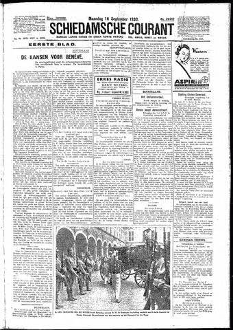 Schiedamsche Courant 1933-09-18