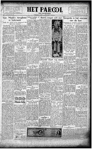 Rotterdamsch Parool / De Schiedammer 1946-01-30