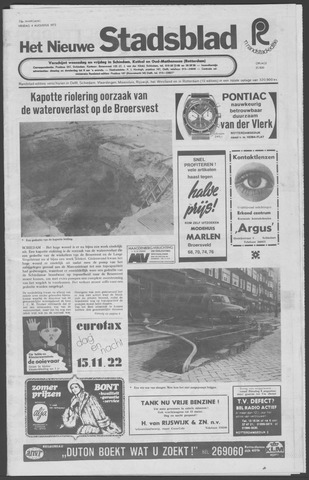 Het Nieuwe Stadsblad 1972-08-04
