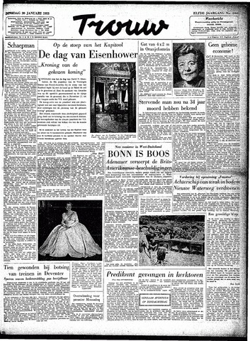 Trouw / De Rotterdammer 1953-01-20