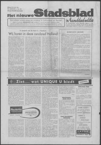 Het Nieuwe Stadsblad 1963-06-28
