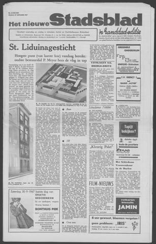 Het Nieuwe Stadsblad 1967-09-29