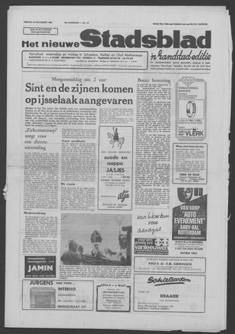 Het Nieuwe Stadsblad 1966-11-18
