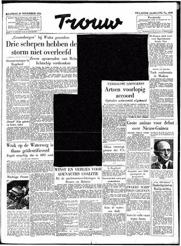 Trouw / De Rotterdammer 1954-11-29