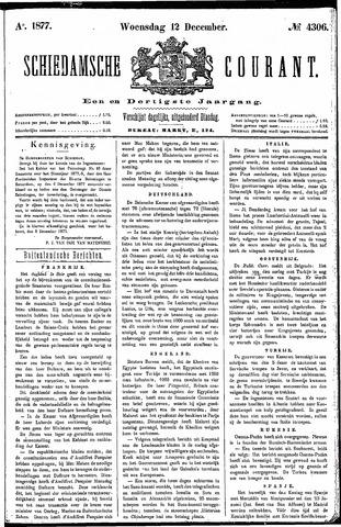 Schiedamsche Courant 1877-12-12