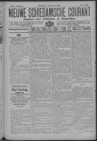 Nieuwe Schiedamsche Courant 1918-08-06