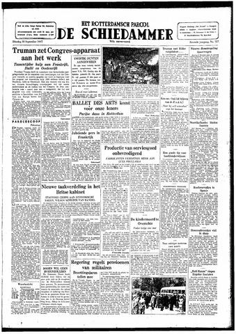 Rotterdamsch Parool / De Schiedammer 1947-09-30