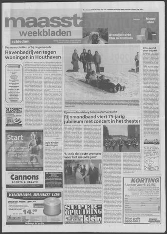 Maaspost / Maasstad / Maasstad Pers 2004-01-07