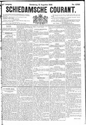 Schiedamsche Courant 1908-08-13
