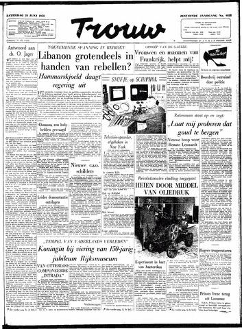 Trouw / De Rotterdammer 1958-06-28