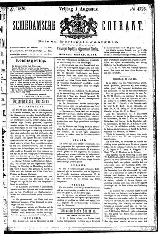 Schiedamsche Courant 1879-08-01