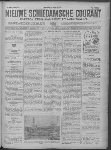 Nieuwe Schiedamsche Courant 1929-05-18
