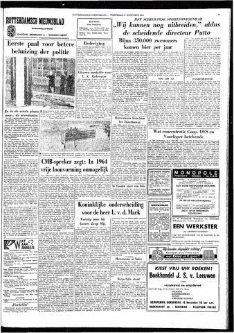 Rotterdamsch Nieuwsblad / Schiedamsche Courant / Rotterdams Dagblad / Waterweg / Algemeen Dagblad 1964-11-11