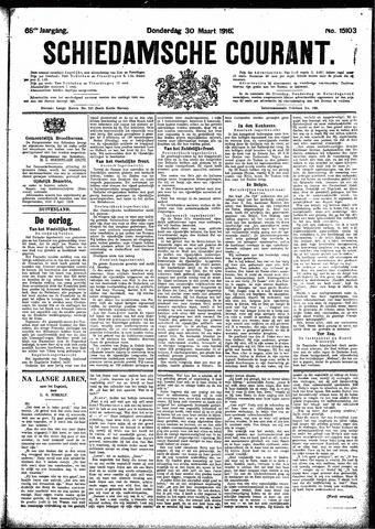 Schiedamsche Courant 1916-03-30