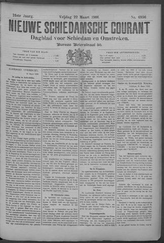 Nieuwe Schiedamsche Courant 1901-03-22