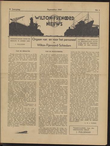Wilton Fijenoord Nieuws 1945