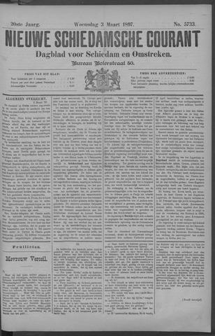 Nieuwe Schiedamsche Courant 1897-03-03