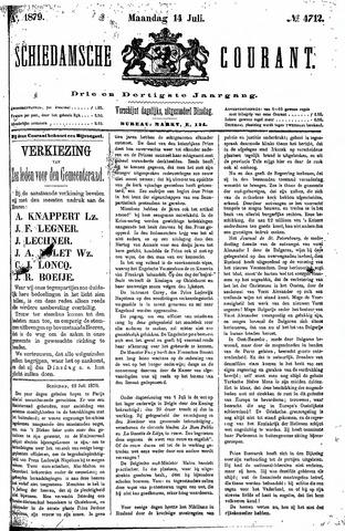 Schiedamsche Courant 1879-07-14