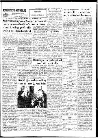 Rotterdamsch Nieuwsblad / Schiedamsche Courant / Rotterdams Dagblad / Waterweg / Algemeen Dagblad 1966-01-07