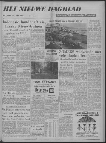 Nieuwe Schiedamsche Courant 1961-06-26